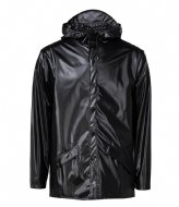 Rains Jacket Shiny Black (76)