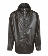 Rains Jacket Shiny Brown