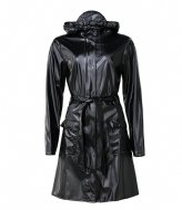 Rains Curve Jacket Shiny Black (76)