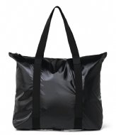 Rains Tote Bag Shiny Black (76)
