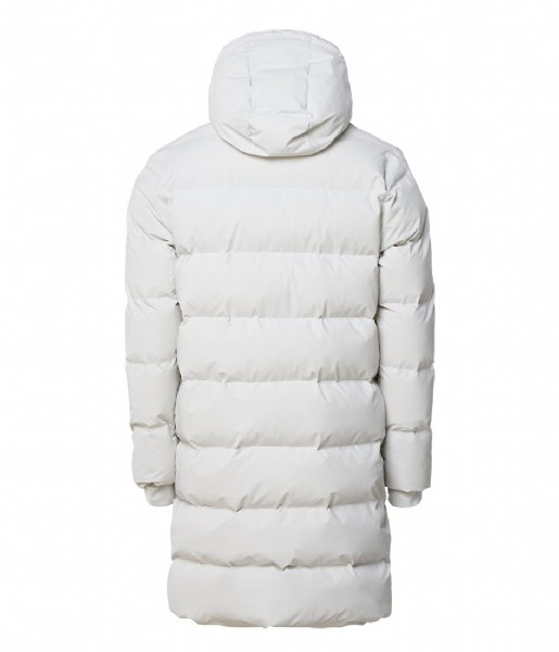 Rains  Long Puffer Jacket 58 Off White
