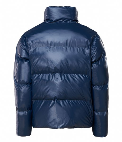 Rains  Boxy Puffer Jacket 07 Shiny Blue