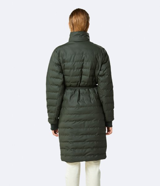 Rains  Trekker W Coat 03 Green