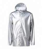 Rains Jacket silver colored (12)