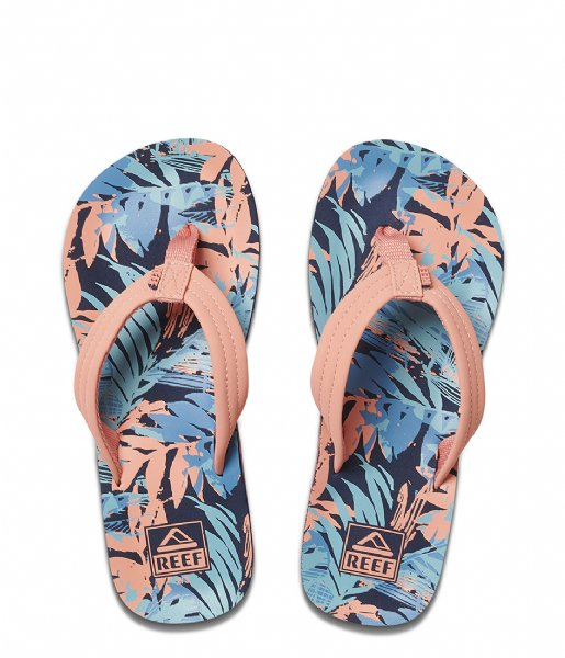 Reef  Kids Ahi sunset palms