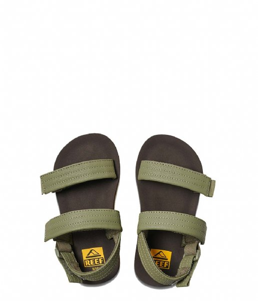 Reef  Little Ahi Convertible brown olive