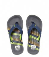 Reef Kids Ahi stripe green