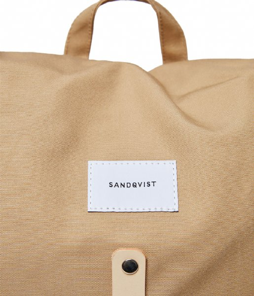 Sandqvist  Roald 15 Inch beige with natural leather (1251)