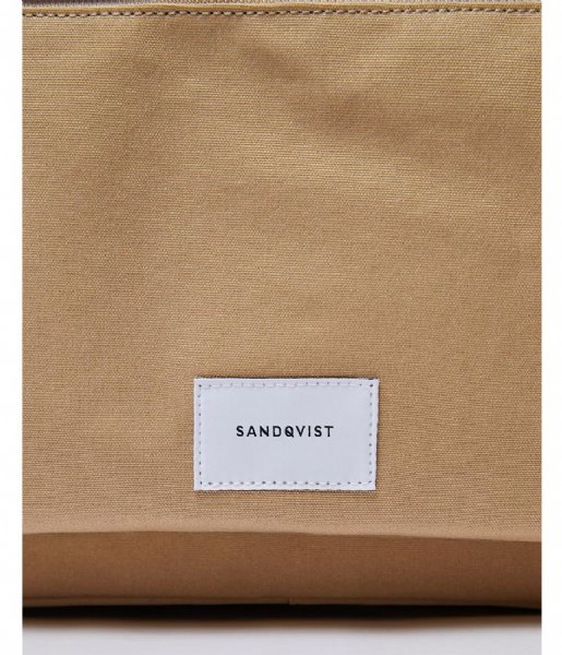 Sandqvist  Emil 15 Inch beige with natural leather (1242)