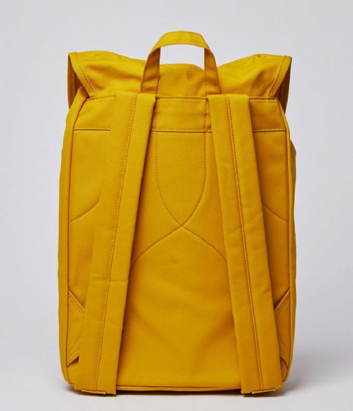 Sandqvist  Tony 13 Inch yellow with natural leather (1259)
