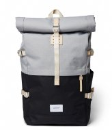 Sandqvist Bernt 13 Inch Multi Grey/Black with natural leather (SQA1560) Q3