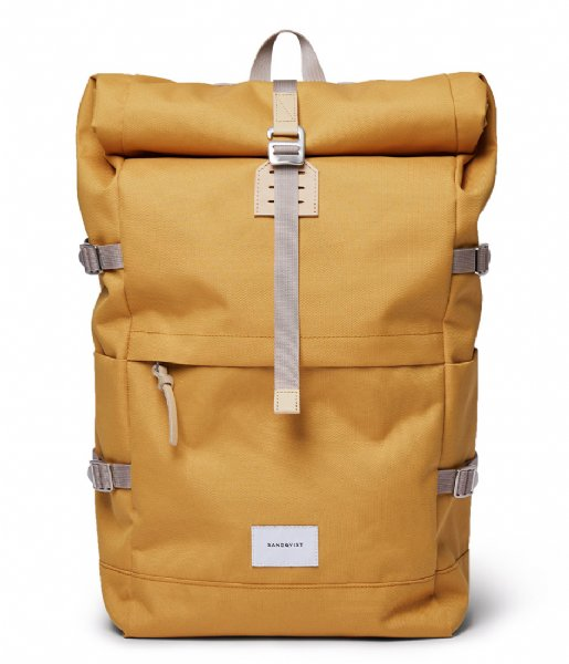 Sandqvist  Bernt 13 Inch Yellow with Natural Leather (SQA1661) Q3-20