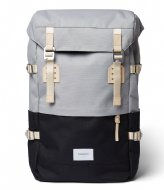 Sandqvist Harald 13 Inch Multi Grey/Black with natural leather (SQA1561) Q3