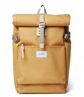Sandqvist Ilon 13 Inch Yellow with Natural Leather (SQA1660) Q3-20
