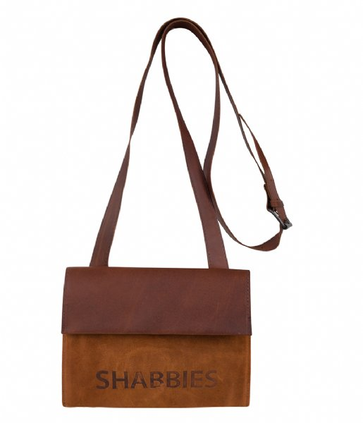 Shabbies  Crossbody Small Waxed Suede Polished waxed suede orange