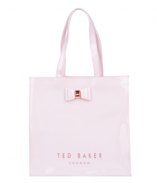 ac8a40fd5e8 Bethcon Large Icon Bag dusky pink Ted Baker | The Little Green Bag