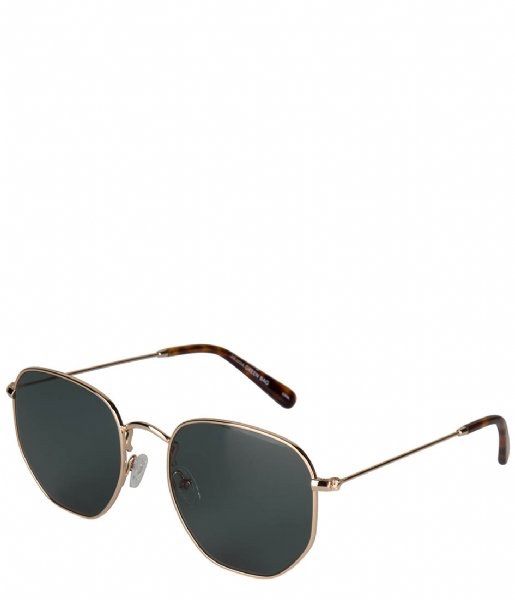 The Little Green Bag  Sunglasses Levisa Goud & Bruin Tortoise
