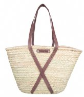 The Little Green Bag Cala Bassa Tote beige