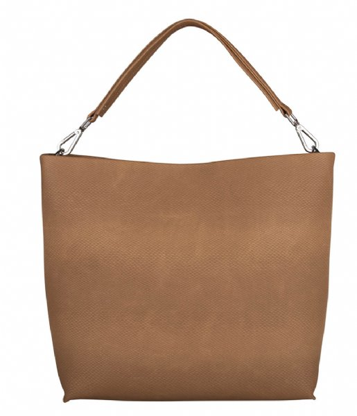 The Little Green Bag  Bag Rocio Camel (370)