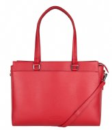 The Little Green Bag Maple Laptop Tote 13 Inch red