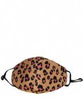 The Little Green Bag Fashion Mask Large Leopard leopard