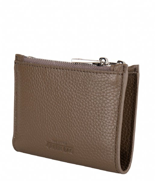The Little Green Bag  Elm Wallet taupe