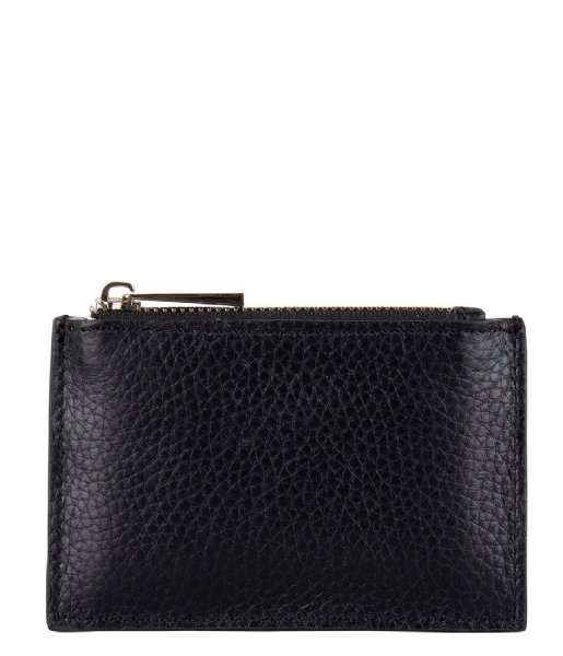 The Little Green Bag  Oak Wallet black