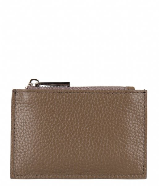 The Little Green Bag  Oak Wallet taupe