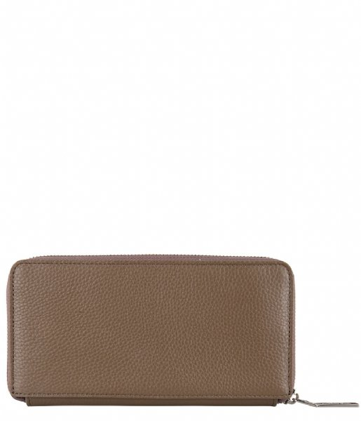 The Little Green Bag  Pine Purse taupe