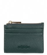 The Little Green Bag Wallet Clementine emerald