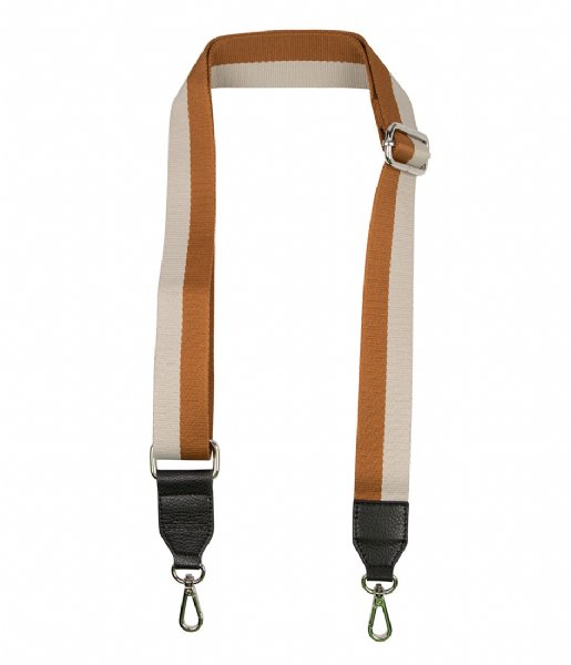 The Little Green Bag  Guitarstrap Opal brown grey
