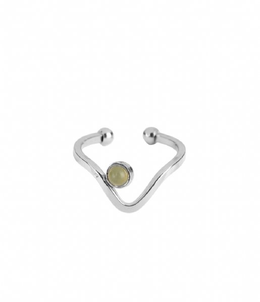 The Little Green Bag  Wave Ring X My Jewellery silver