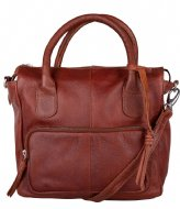 The Little Green Bag Yucca Handbag Cognac (300)