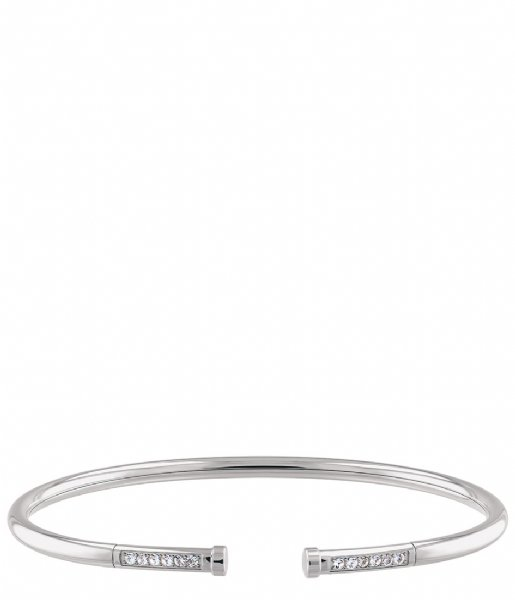 Tommy Hilfiger  Memory Steel Bangle Zilverkleurig (TJ2780250)