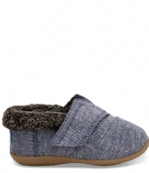 TOMS House Slipper Woven navy chambray (10010736)