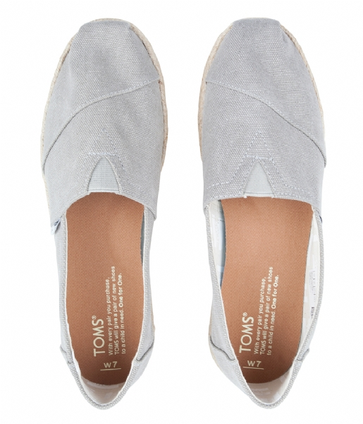TOMS  Classic Espadrilles Washed drizzle grey (10009754)