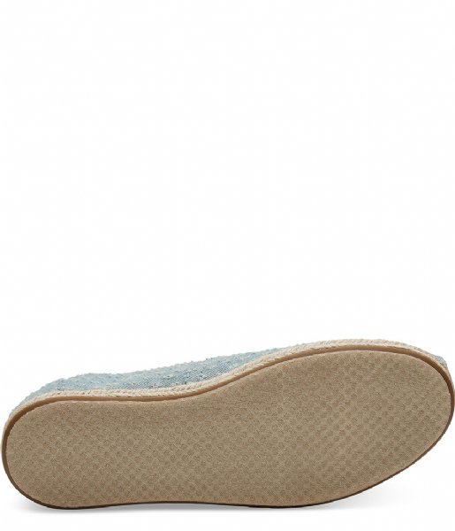 92489375fdf Seaglass Torn Denim Espadrilles blue (10011654) TOMS