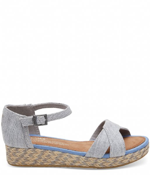 TOMS  Textured Chambray Harper blended grey (10011537)