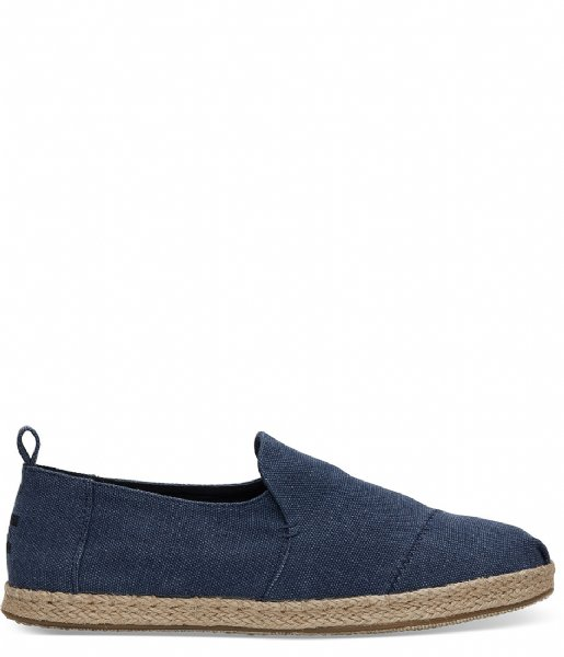 TOMS  Washed Canvas Espadrilles navy washed (10011623)