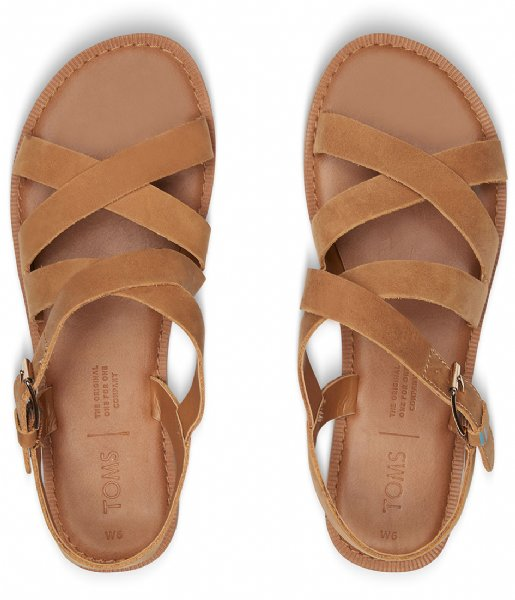 TOMS  Sicily Sandal tan leather (10013440)