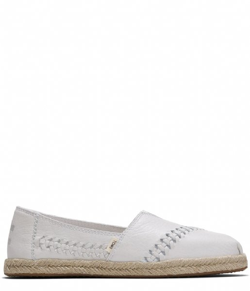 TOMS  Rope Espadrilles Leather white (10015047)