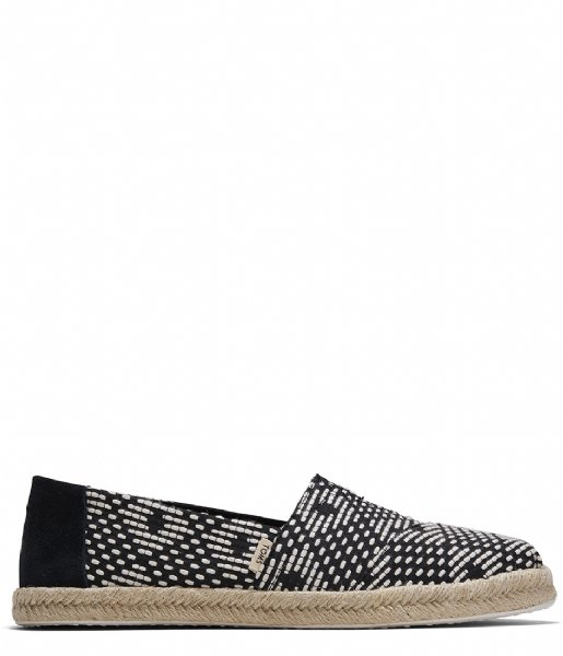 TOMS  Geo Diamond Espadrilles back (10015073)