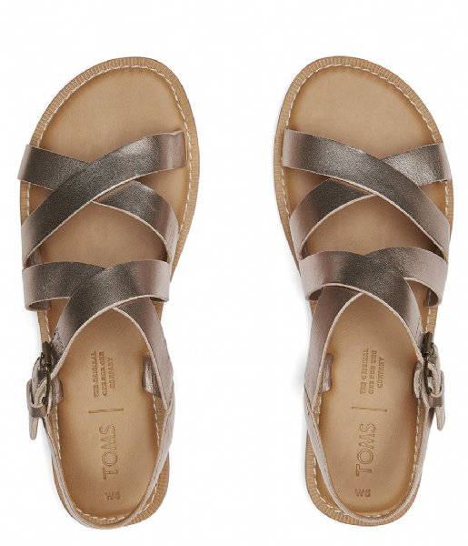 TOMS  Sicily Sandal rose gold metallic (10015120)