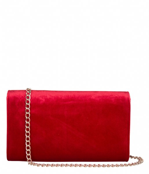 Valentino Handbags  Marilyn Clutch Velvet rosso