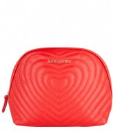 Valentino Handbags Fiona Soft Cosmetic Case rosso