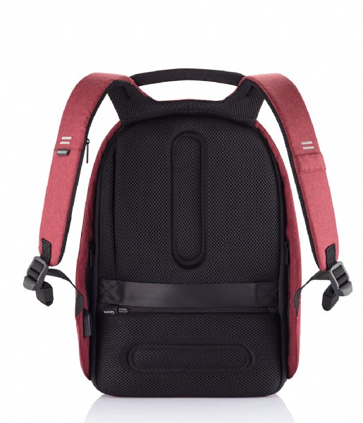 XD Design  Bobby Hero Small Anti Theft Backpack 13 Inch red (704)