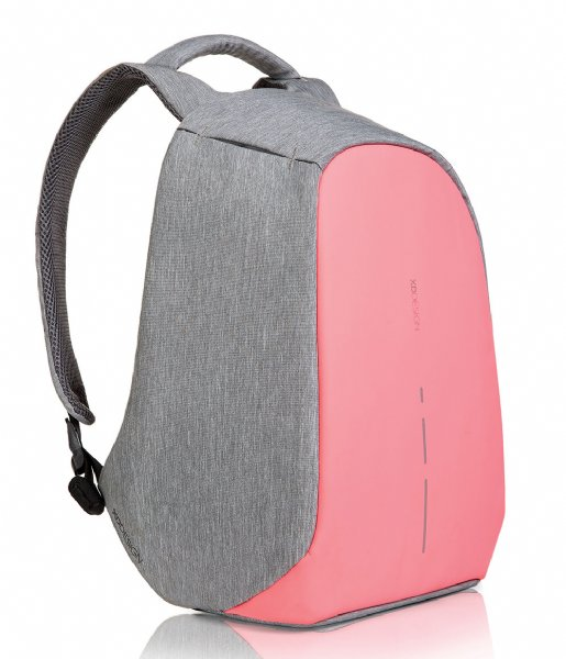 XD Design  Bobby Compact Anti Theft Backpack 14 Inch coral pink (534)