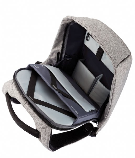 XD Design  Bobby XL Anti Theft Backpack 17 Inch grey (562)
