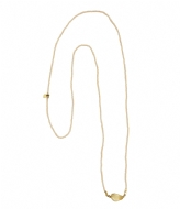 A Beautiful Story Joy Citrine Necklace gold plated (21776/23029)