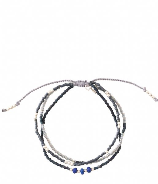 A Beautiful Story  Gentle Labradorite Silver Plated Bracelet silver plated (BL24728)